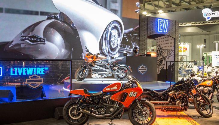 EICMA 2018: LiveWire, una Harley-Davidson elettrica - Foto 24 di 29