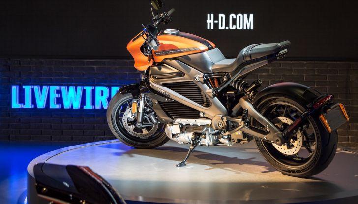 EICMA 2018: LiveWire, una Harley-Davidson elettrica - Foto 3 di 29