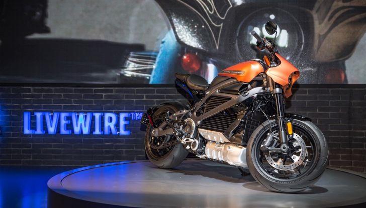 EICMA 2018: LiveWire, una Harley-Davidson elettrica - Foto 4 di 29
