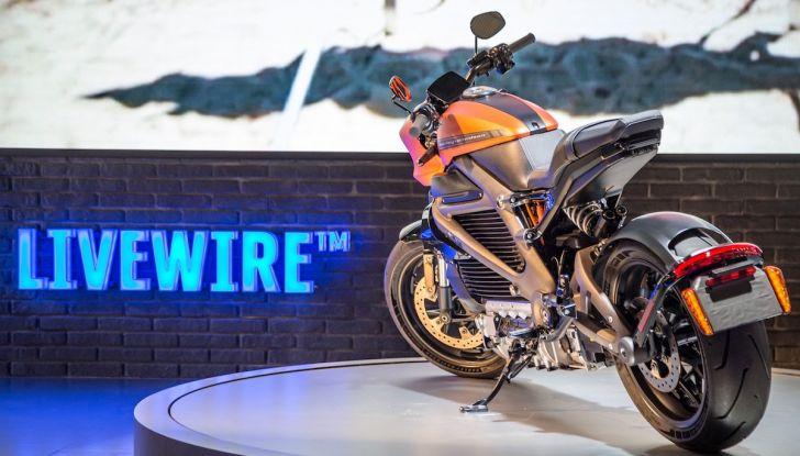 EICMA 2018: LiveWire, una Harley-Davidson elettrica - Foto 9 di 29