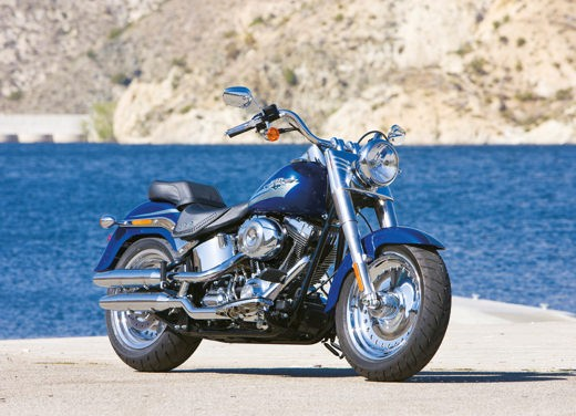 Harley Davidson FLSTF Fat Boy