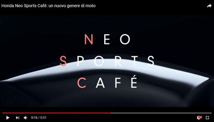Honda Projects Neo Sports Café - Foto 1 di 5