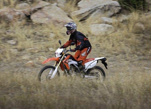 Honda CRF250L in arrivo sul mercato europeo