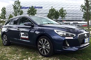 A Francoforte con Hyundai i30