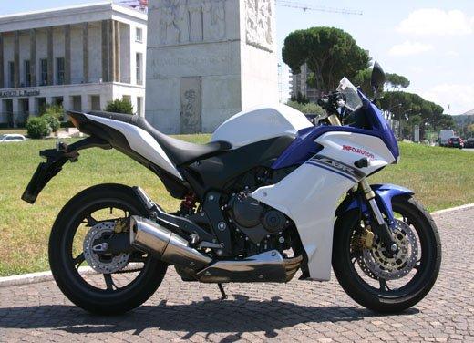 Nuova Honda CBR600F: prova su strada del modello 2011 - Foto 7 di 16