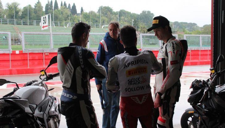 Pirelli SBK Track Days: a Imola con la BMW S1000RR - Foto 26 di 38