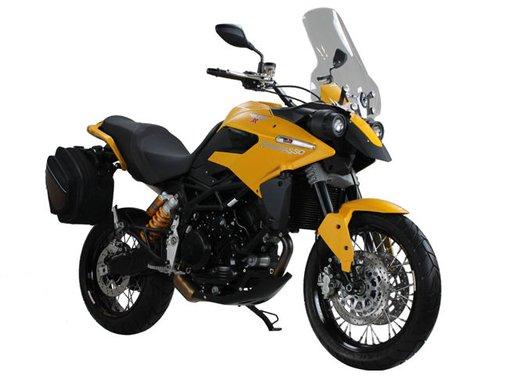 Moto Morini Granpasso 1200 Travel Yellow Factory Custom al prezzo di 12.500 euro