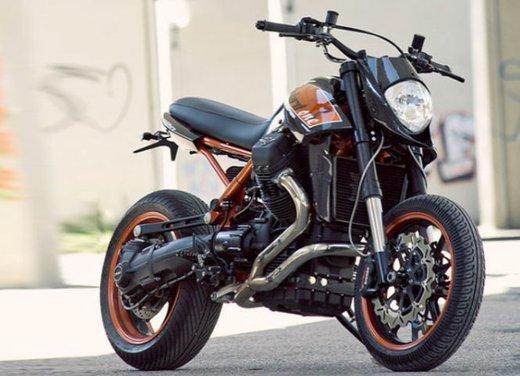 Moto Guzzi Stelvio by Officine RossoPuro