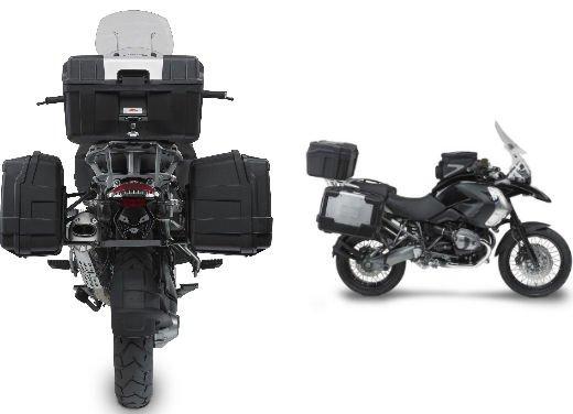 BMW R 1200 GS con kit borse e parabrezza Kappa