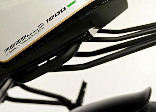 Moto Morini Rebello 1200 Giubileo: 600 modelli all'asta per festeggiare - Foto 4 di 15