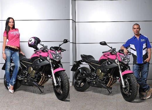 Yamaha XJ6 Rosa Italia moto ufficiale del Giro d'Italia 2011 - Foto 5 di 20