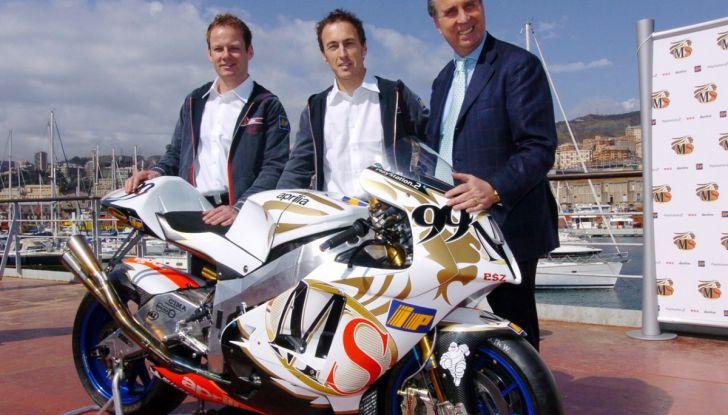 Addio a Ivano Beggio: lanciò Rossi, Biaggi e Melandri nella MotoGP - Foto 1 di 5