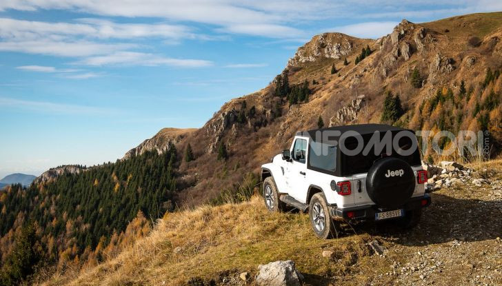 Prova nuova Jeep Wrangler 2018: la regina dell'offroad torna più forte - Foto 13 di 58