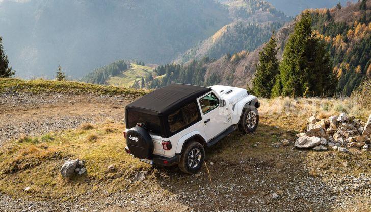 Prova nuova Jeep Wrangler 2018: la regina dell'offroad torna più forte - Foto 15 di 58