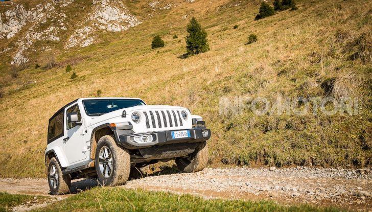 Prova nuova Jeep Wrangler 2018: la regina dell'offroad torna più forte - Foto 21 di 58