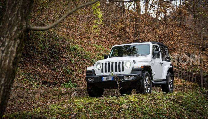 Prova nuova Jeep Wrangler 2018: la regina dell'offroad torna più forte - Foto 1 di 58