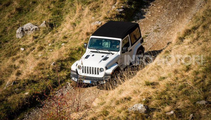 Prova nuova Jeep Wrangler 2018: la regina dell'offroad torna più forte - Foto 26 di 58