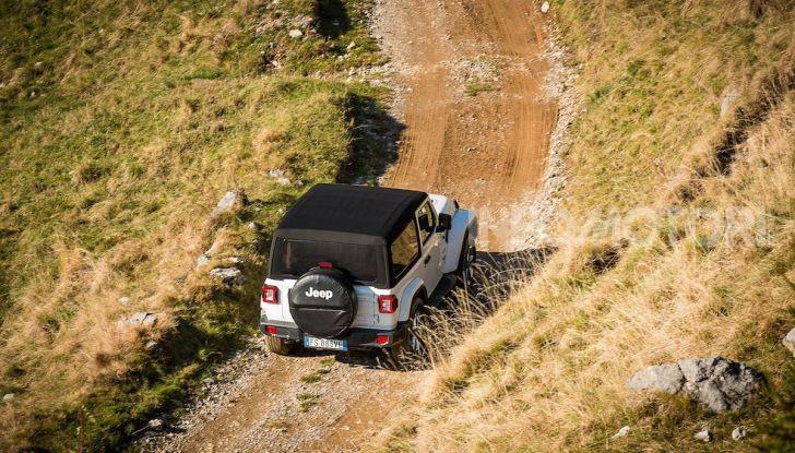 Prova nuova Jeep Wrangler 2018: la regina dell'offroad torna più forte - Foto 27 di 58