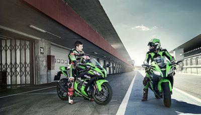 Con Kawasaki tutta la gamma in prova Imola