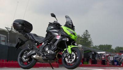Kawasaki Versys 650 moto ufficiale del Giro d'Italia 2016