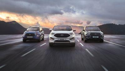 La Gamma SUV di Ford ottiene i migliori risultati di sempre nel 2018
