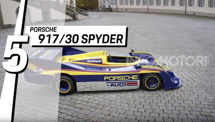 Le 5 Porsche più costose di sempre in un video - Foto 6 di 20