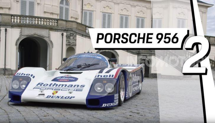Le 5 Porsche più costose di sempre in un video - Foto 2 di 20