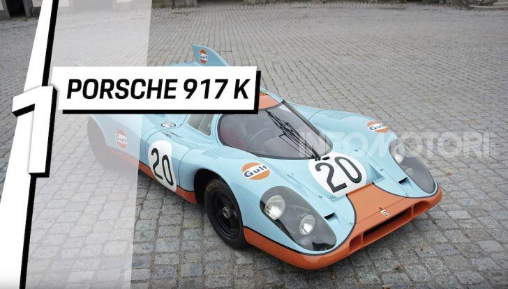 Le 5 Porsche più costose di sempre in un video - Foto 1 di 20