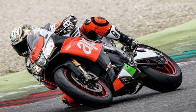 Loris Capirossi con RSV4 per gli Aprilia Racers Days 2018