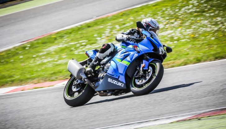 Prova in pista Suzuki GSX-R 1000 2017: il Ritorno del Re - Foto 24 di 24