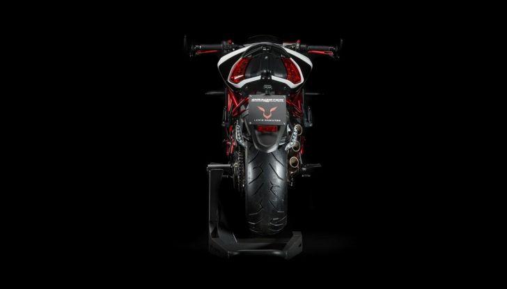 MV Agusta Lewis Hamilton design - Foto 4 di 10