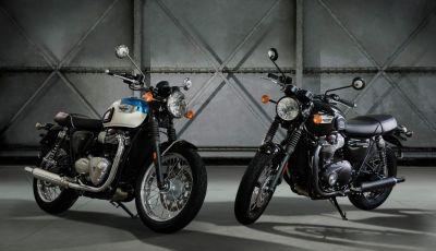Triumph Bonneville T100 e T100 Black 2017
