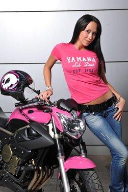 Yamaha XJ6 Rosa Italia moto ufficiale del Giro d'Italia 2011 - Foto 13 di 20