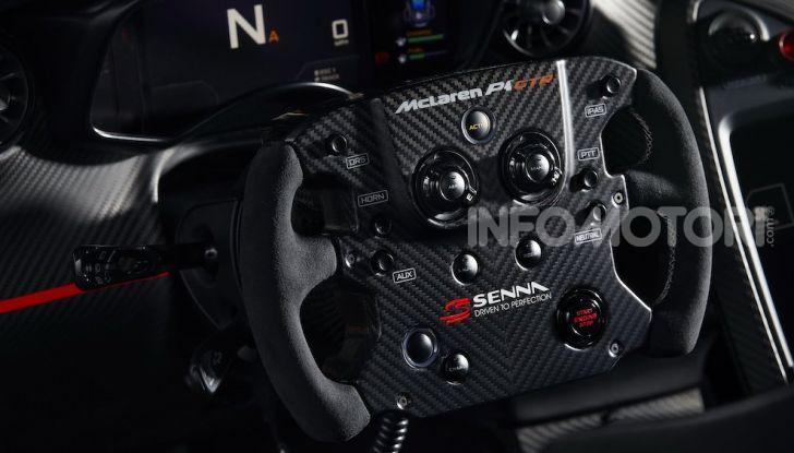 McLaren P1 GTR MSO: omaggio alla MP4/4 di Ayrton Senna - Foto 8 di 9