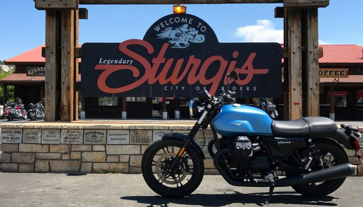 77° Sturgis Motorcycle Rally: Moto Guzzi c'è! - Foto 2 di 5
