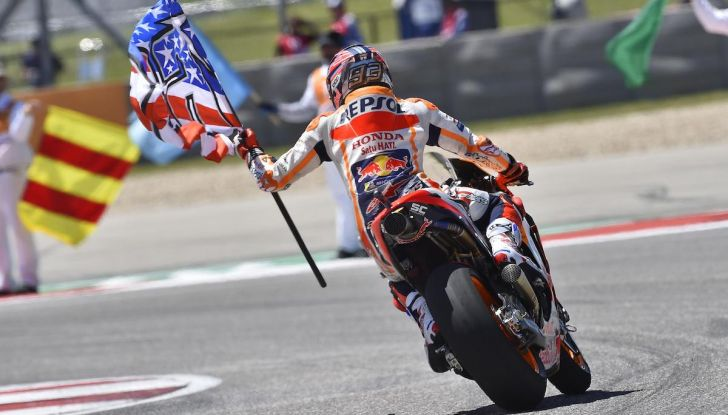 Orari Austin 2019, MotoGP: la gara in diretta SKY e differita TV8 - Foto 12 di 16