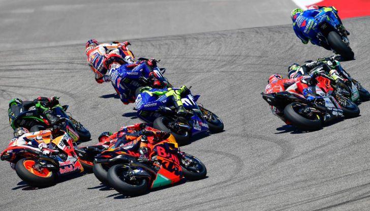 Orari Austin 2019, MotoGP: la gara in diretta SKY e differita TV8 - Foto 11 di 16