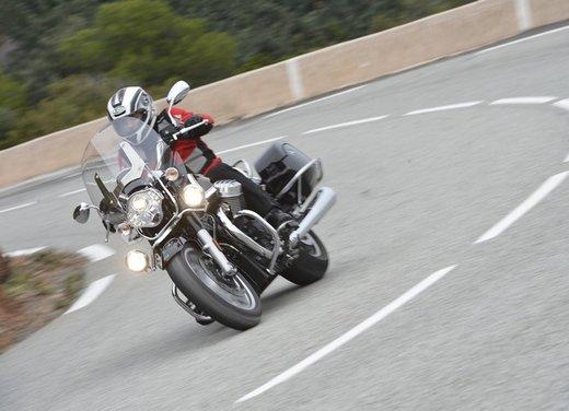 Moto Guzzi California 1400 Touring: la prova su strada dell'ammiraglia Guzzi - Foto 10 di 32