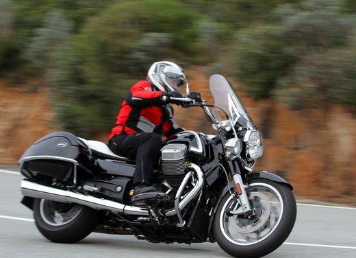 Moto Guzzi California 1400 Touring: la prova su strada dell'ammiraglia Guzzi