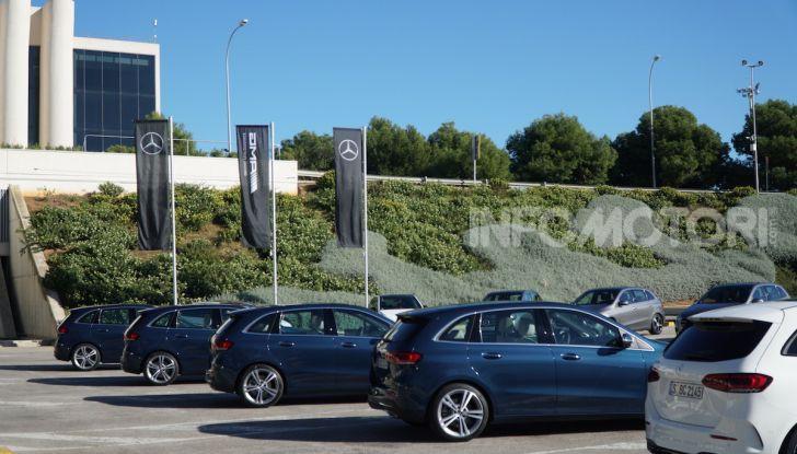 Nuova Mercedes Classe B prova su strada, allestimenti e motori - Foto 6 di 10