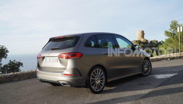 Nuova Mercedes Classe B prova su strada, allestimenti e motori - Foto 2 di 10
