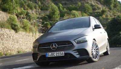 Nuova Mercedes Classe B prova su strada, allestimenti e motori