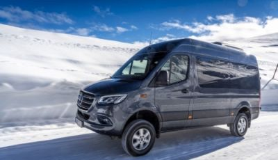 Nuovo Mercedes-Benz Sprinter 4×4: più efficienza, sicurezza e comfort