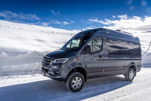 Nuovo Mercedes-Benz Sprinter 4×4: più efficienza, sicurezza e comfort - Foto 13 di 17