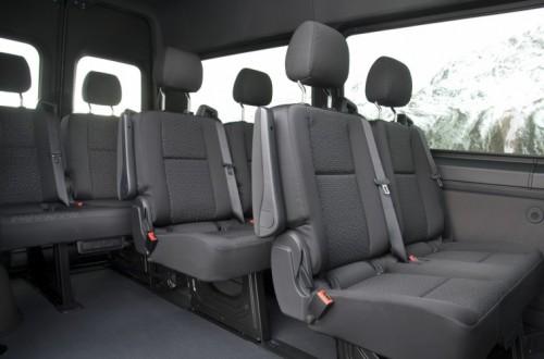 Nuovo Mercedes-Benz Sprinter 4×4: più efficienza, sicurezza e comfort - Foto 15 di 17