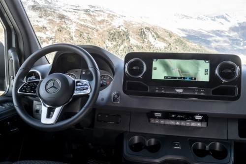 Nuovo Mercedes-Benz Sprinter 4×4: più efficienza, sicurezza e comfort - Foto 10 di 17