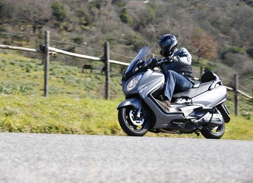 Nuovo Suzuki Burgman 650: la tradizione continua - Foto 6 di 27