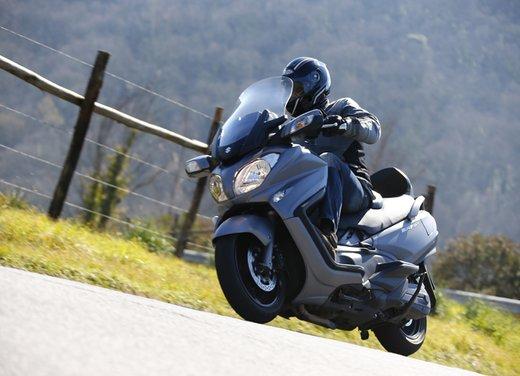 Nuovo Suzuki Burgman 650: la tradizione continua - Foto 7 di 27