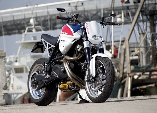 Buell X1 Big Red by Officine Rossopuro