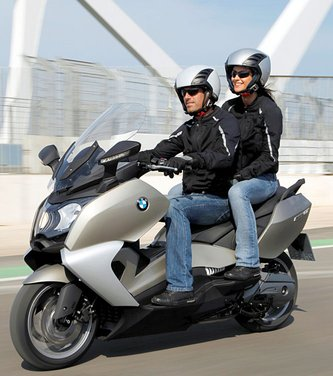 BMW C 650 GT video ufficiale del maxi scooter turistico BMW - Foto 73 di 76